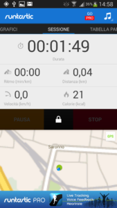 runtastic start