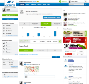 runtastic web